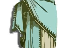 Clip Art - Roman Clothes Female Tunic