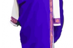 Clip Art - Roman Clothes Purple Toga