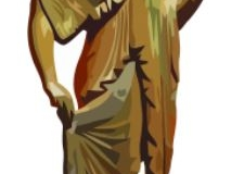 Clip Art - Roman Clothes Statue of Woman
