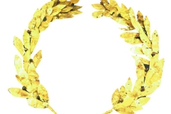 Clip Art - Gold Leaf Crown