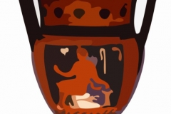 Clip Art - Roman Vase with Handles