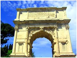 The Arch of Titus (Arco di Tito) copy
